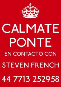 CALAMATE PONTE EN CONTACO CON STEVEN FRENCH 44 7713 252958
