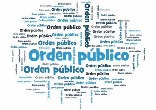 el orden publico